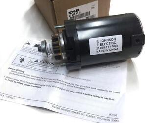 Genuine Kohler 20 098 11S Electric Starter Replaces 20 098 10S 20 098 08S OEM