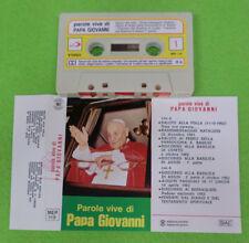 MC Parole vive di PAPA GIOVANNI italy EDIZIONI PAOLINE MEP 119 no cd lp dvd vhs