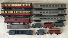 Vintage Triang Plastic And Metal Train Assortment. Good Condition.