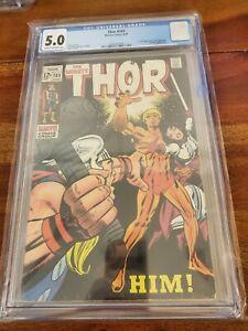 Thor #165 CGC 5.0 1969 1st full app. Adam Warlock