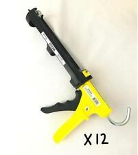 Ergo-Tech Industrial Caulk Gun ETS5000 6 Pk Dripless 29 Oz