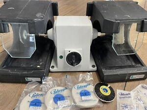 Poliermotor (Omec PL3) inkl zwei Polierschutztrögen