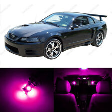 6 x Pink/Purple LED Interior Light Package For 1994 - 2004 Ford Mustang