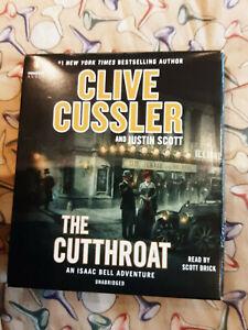 Cd Audio Book. Unabridged. The Cutthroat...clive Cussler