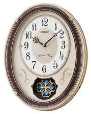 Genuine SEIKO QXM337-B Wall Clock | Melody in Motion| 18 Hi-Fi Melodies | New