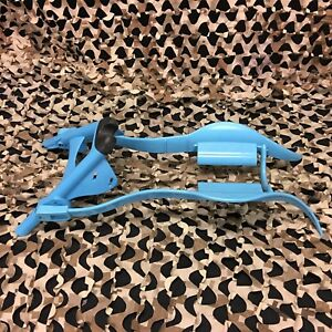 NEW Splattrak Paintball Gun Marker Stand w/ Pod Holder - Cyan