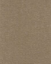"Wallpaper 54""  Golden Bronze Faux Weave Fabric Backed Commercial Grade"