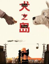 Isle of Dogs Movie 2017 Wes Anderson - Wall Print 27X40 24x36in Poster E006