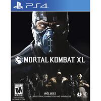 Mortal Kombat XL PS4 [Brand New]