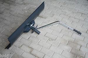 Schneeschild Räumschild Schneeschieber  100 cm oder 80 cm mit Verstellhebel