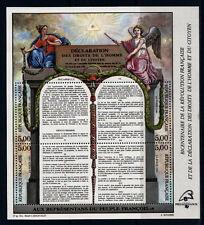 timbres France bloc  droits de l'homme  , num 11 **