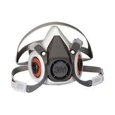 3M 6200 Half Face Respirator Size Medium,W/ 6006 Cartridges