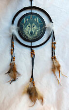 Wolf / Wolf Head Design Dreamcatcher / Dream Catcher - BNIB