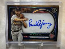 2020 Topps Tribute Paul DeJong Tribute Autograph AUTO TA-PD 093/150 - Cardinals