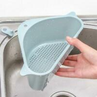 Triangle Storage Holder Multifunctional Drain Shelf Storage Sucker Kitchen Tool