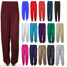 Ladies women's girls Ali Baba Harem Hareem Trousers Pants Leggings Costume Dress