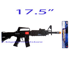 1X Plastic Machine Gun AS M- Rifle Toy as Military Army Soldier Gun Fire Sound