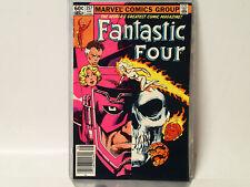 FANTASTIC FOUR #257 Marvel Comics 1983 VF-  Galactus, Frankie Raye Nova!   FL