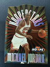 Michael Jordan 1997-98 Skybox NBA Hoops Hooperstars #1 Die Cut Insert READ DESC