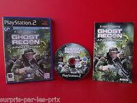 Ghost Recon Jungle Tormenta - JUEGO PLAYSTATION 2 - PS2 - con instrucciones