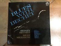 Sidney Bechet Blues With Bechet UK 2-LP vinyl record (Double Album) Free UK Post