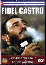 FIDEL CASTRO Rivoluzionario e Lider Maximo DVD Documentario NEW Sigillato