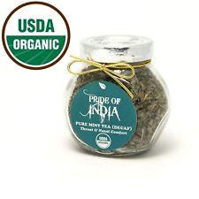 Organic Mint Herbal Full Leaf Tea (Caffeine Free)