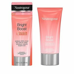 Neutrogena Bright Boost Resurfacing Micro Polish Facial Exfoliator with Glycolic