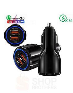 Zigarettenanzünder 2 USB Adapter Kfz Auto Ladegerät Ladeadapter 3.1A LKW Handy