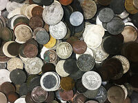 Clearance SALE Antique WWI and WW2 Germany War Coins - FOUR coins per Lot