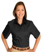 Edwards Garment Women's Short Sleeve Wrinkle Resistant Blouse Shirt. 5740