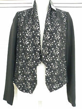 A FABULOUS!! Black Lace Jacket By 'Dorothy Perkins' - Size 10 - BNWT - RRP £49