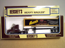 Hershey's Peanut Butter Cup Tractor Trailer 1/48 Scale Die Cast. Special Offer