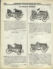 1922 PAPER AD Reo Nash Paige Kid's Pedal Car Bronco Tricycle Bobby Buster