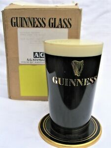 Rare Guinness Bar Top Pump Head Font Man Cave Pub Light Display in Original Box
