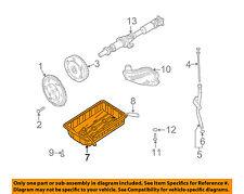 KIA OEM 03-04 Sorento 3.5L-V6-Transmission Tranny Oil Pan 452404A520