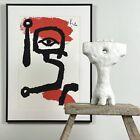 Paul Klee (after) - Kettledrummer Silkscreen, Framed (Signed in Plate)