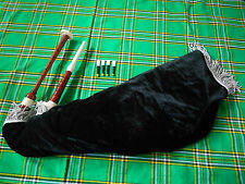 Goose Bagpipe Practice Set/Highland Bagpipe Goose Patrice Set with 4 Reeds