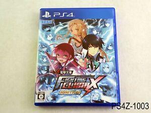 Dengeki Bunko Fighting Climax Ignition Playstation 4 Japan Import PS4 US Seller