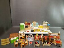 MCM Doll House Furniture Accessories Made by Tomy Japan - Incredible! 80+ pcs.