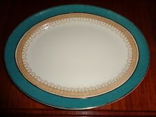 Losol Ware Keeling And Co Ltd CLAREMONT Green Circa 1930's? Medium Platter