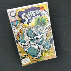 DC Comics - Superman The Man Of Steel #18 - 1st Full App Doomsday - 3rd Print