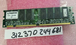 256MB SD SDR SDRAM PC 133  PC133 168PIN for Apple Powermac G4 Digital Audio