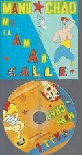 PROMO CD--MANU CHAO--ME LL AM AN CALLE--1TR