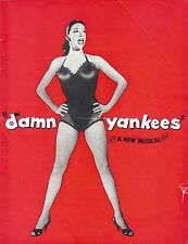 "Belita ""DAMN YANKEES"" Ivor Emmanuel / Bill Kerr 1957 London Souvenir Program"