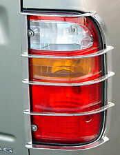 TOYOTA HILUX D4D 97-05 MK5 REAR TAIL LIGHT GUARDS STAINLESS COVERS TRIM PICKUP