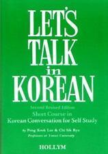 Let's Talk in Korean-ExLibrary