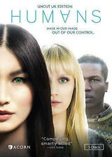 Humans: Season 1 (DVD, NEW, 2016, 2-Disc Set, UNCUT UK Edition, US Release)