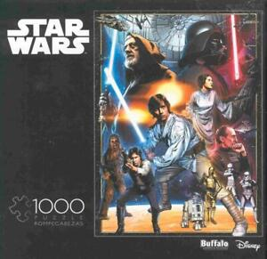 Star Wars 1000 Piece Jigsaw Puzzle The Circle is Now Complete missing 1 piece