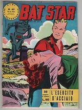 BAT STAR albi dell'avventuroso N.65 L' ESERCITO D' ACCIAIO brick bradford 1964